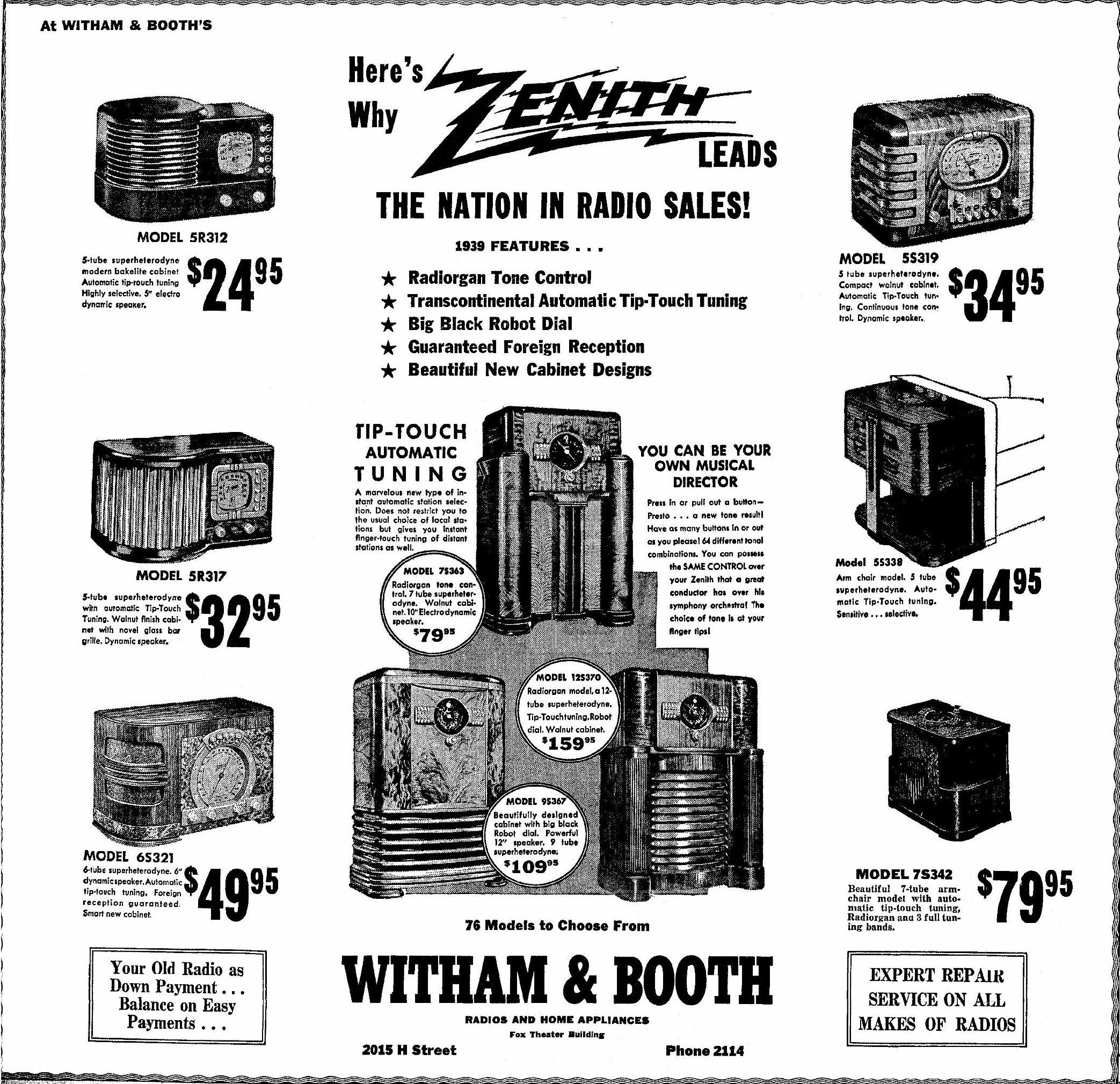 Zenith Model 5s319 Table Radio 1939. Sept 1938 Bakersfield Ca. Wiring. Zenith Tube Radio Schematics 1938 At Scoala.co