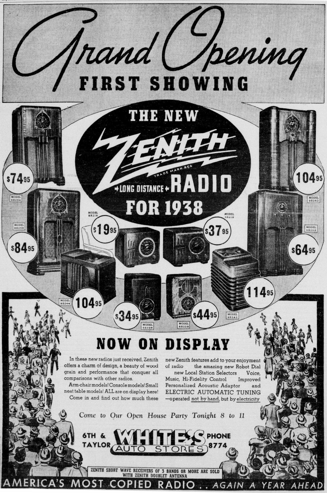 Zenith Model 6s254 Console Radio 1938. Pare For Tone Beauty Performance. Wiring. Zenith Tube Radio Schematics 1938 At Scoala.co