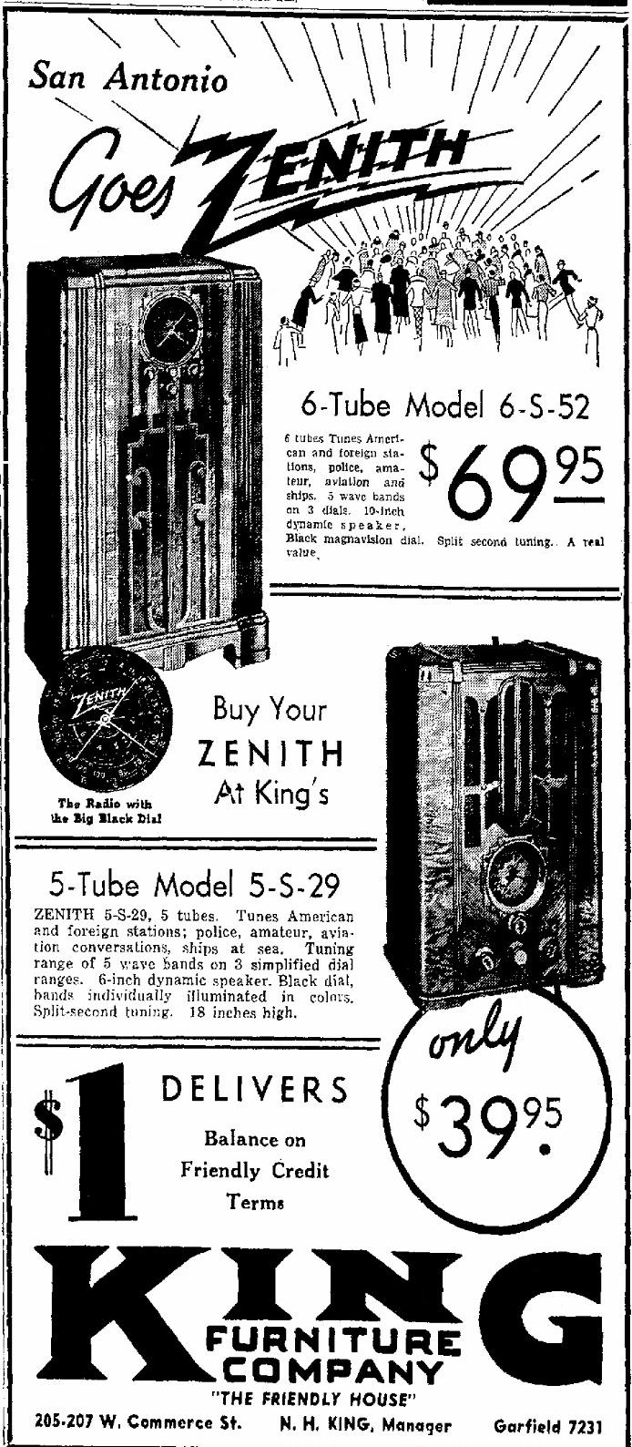 Zenith Model 6s52 Blackdial Console Radio 1936. Oct 1935 Radio Retailing. Wiring. Zenith Tube Radio Schematics Model 6s At Scoala.co