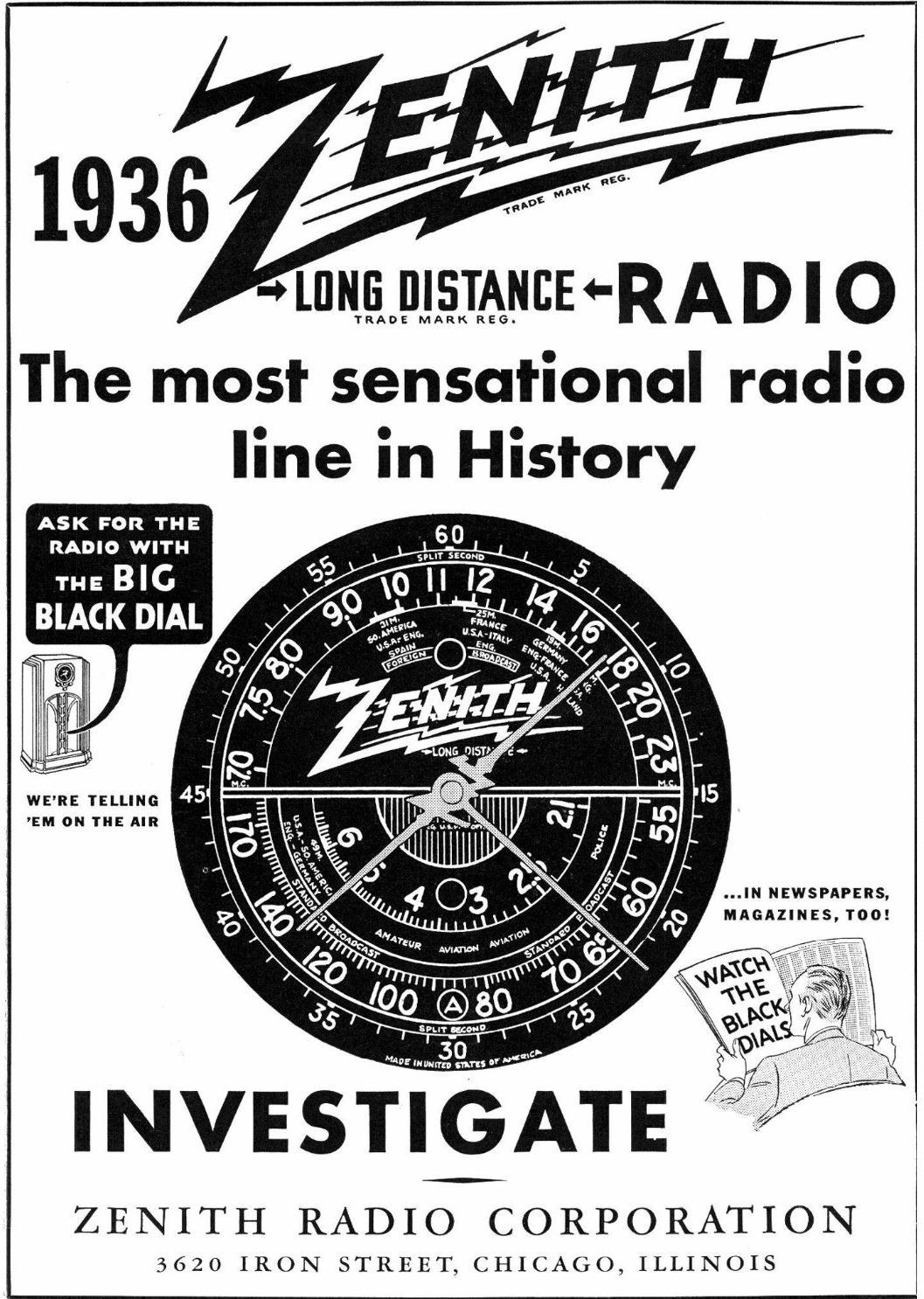 Zenith Model 9s30 Tombstone Radio 1936. Aug 1935 Radio Retailing Pg 1. Wiring. Zenith Tube Radio Schematics 10g 130 At Scoala.co