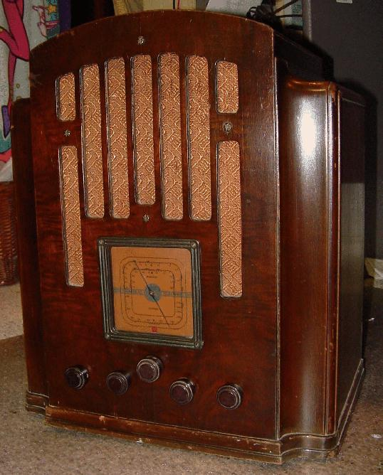 General Electric Ge Model M 61 Tombstone Radio 1934
