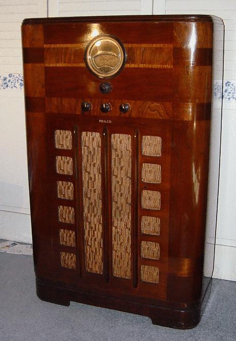 Philco Floor Radio Philco 38-9k Console Radio