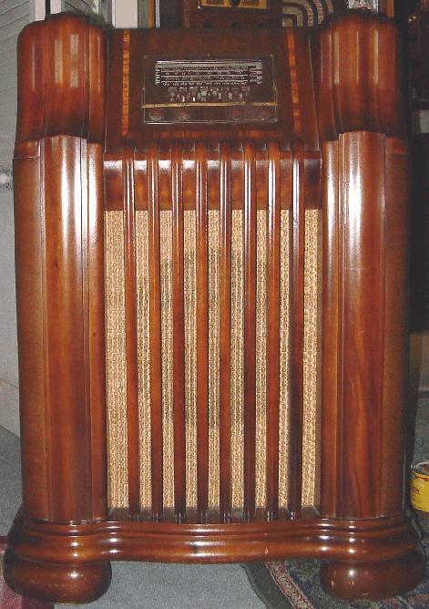 41-290X Console Tube Radio (1941). Philco ...