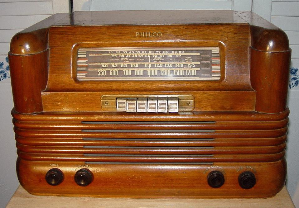 Philco 42 350T Table Radio 1942