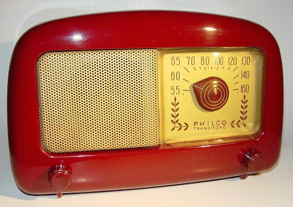 Philco Model 48 225 Plastic Table Radio