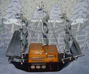 Majestic 1S49 Novelty Ship Radio (1940)