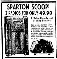 Newspaper ad for the 409GL, dated Dec 1940