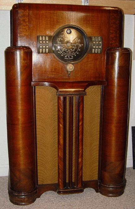 Zenith Model 7 S 363 Console Radio 1939