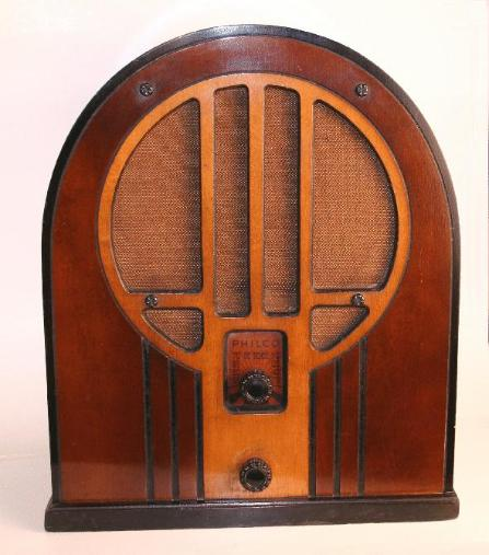 Philco 84b 84 Baby Grand Cathedral Radio First Style