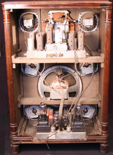 Philco 37 690x De Luxe High Fidelity Console Radio 1936 1937