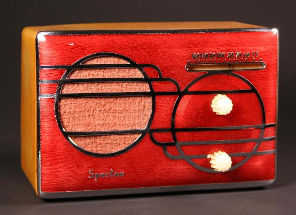 Sparton 500C 'Cloisonne' in red
