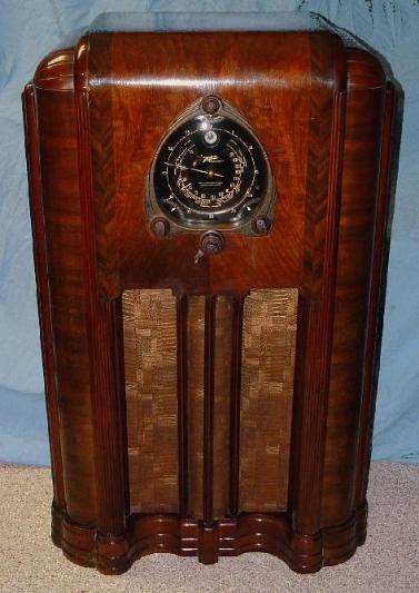 Zenith 12 S 267 12s267 Shutter Dial Floor Model Radio 1938